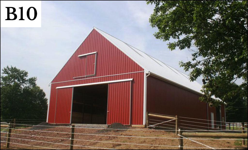 Pole barn gallery conestoga buildings for 24 x 32 pole barn plans