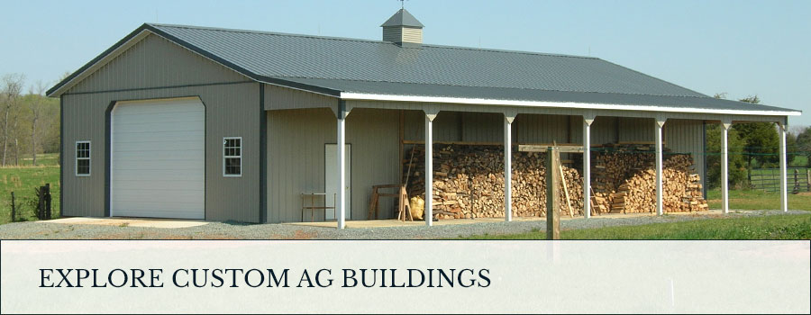 explore custom post frame ag buildings