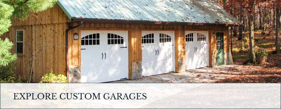 explore custom garages