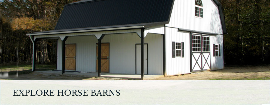 Explore Post Frame horse barns