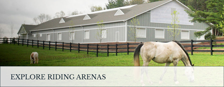 Explore post frame riding arenas