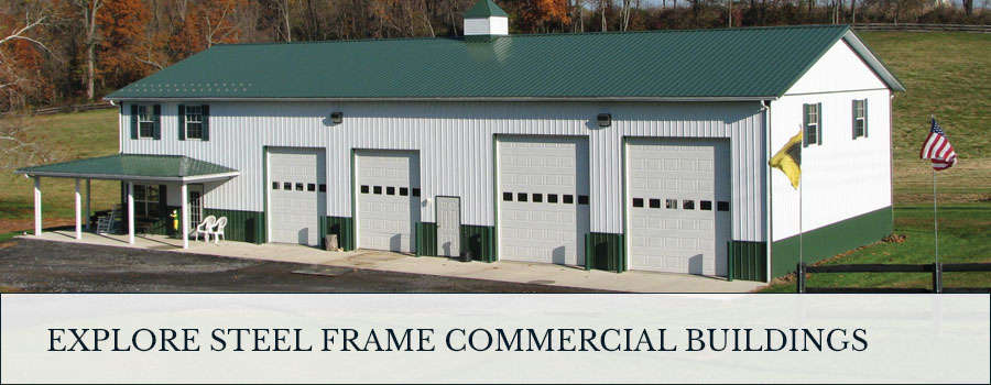 explore steel frame commercial buildings