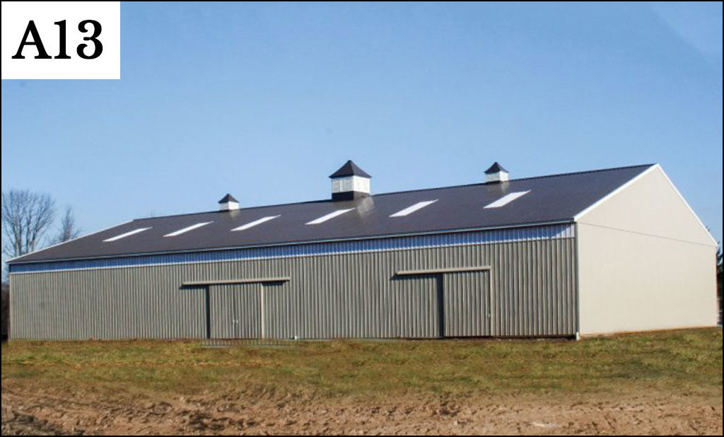 custom post frame ag building a 13
