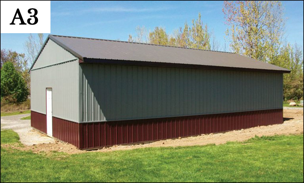 custom post frame ag building a3