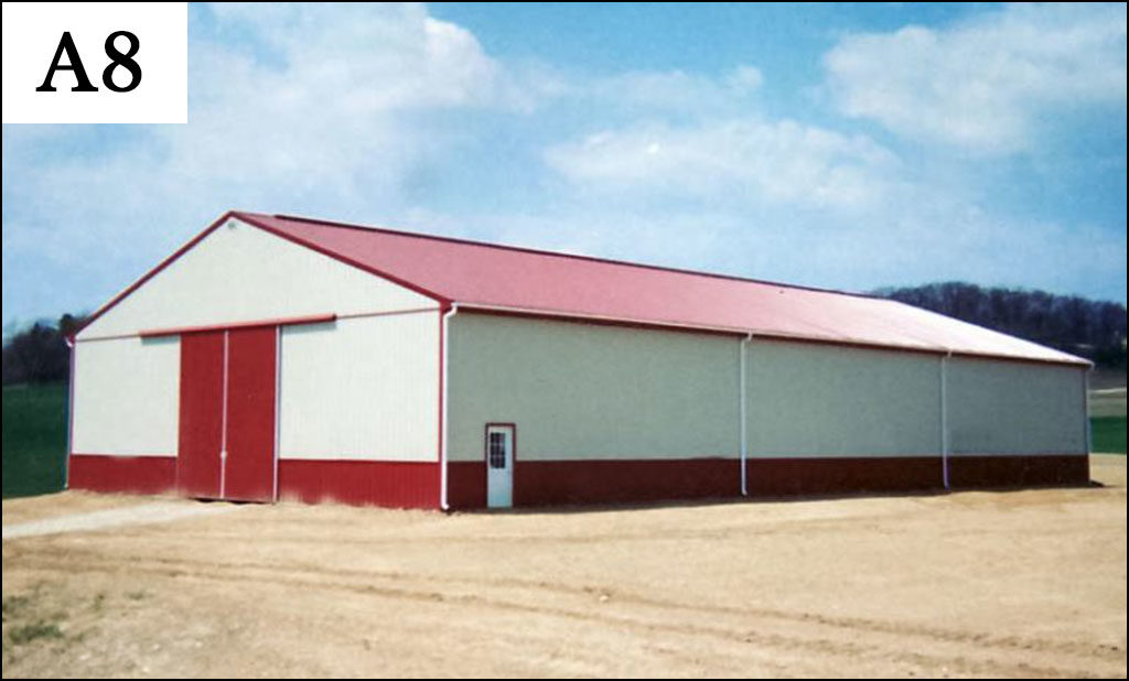 custom post frame ag building a8