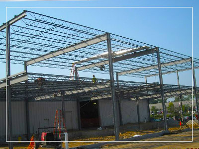 cost effective commercial buildings with steel frame construction