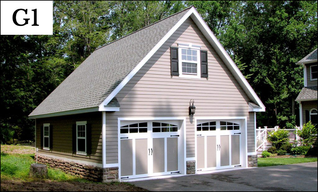 Custom garages gallery conestoga buildings for A frame garage