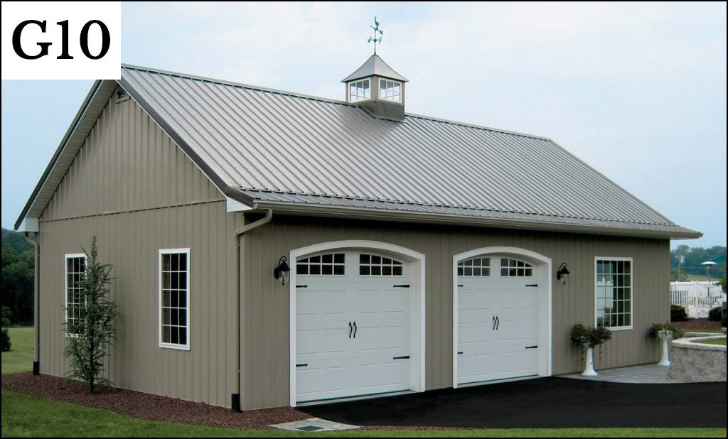 Custom garages gallery conestoga buildings for 30 by 30 garage cost