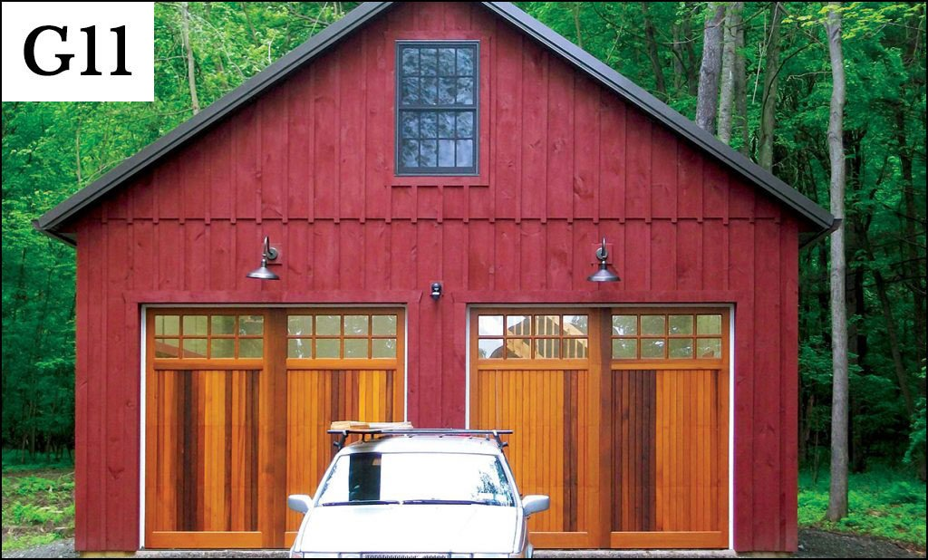 custom post frame garage g11
