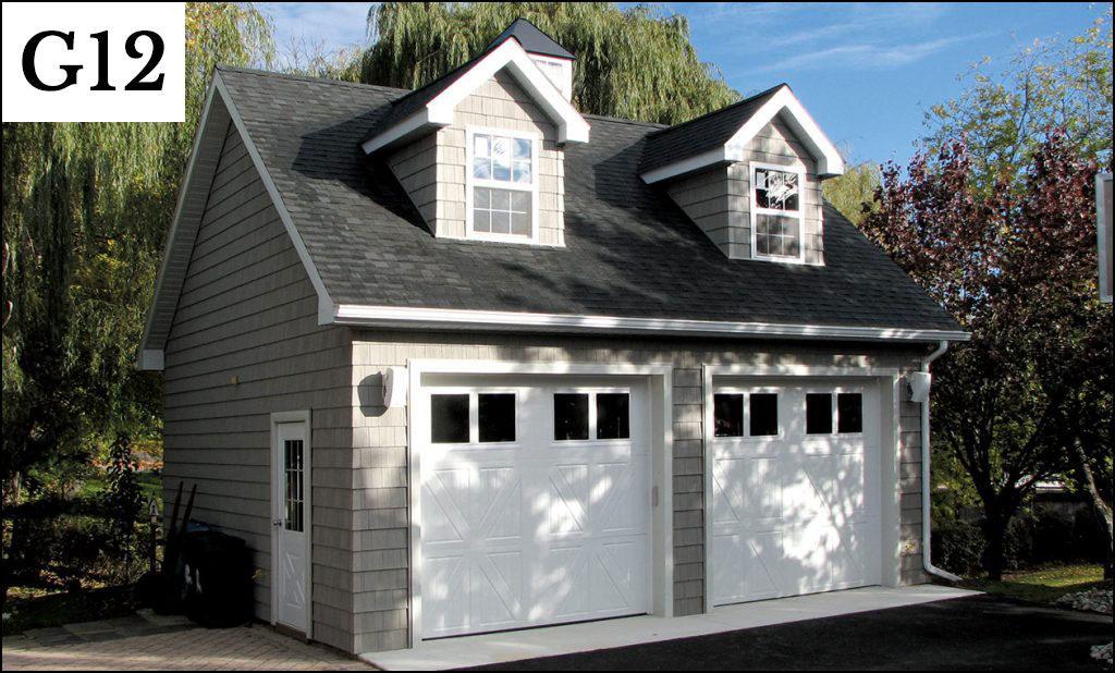 custom post frame garage g12