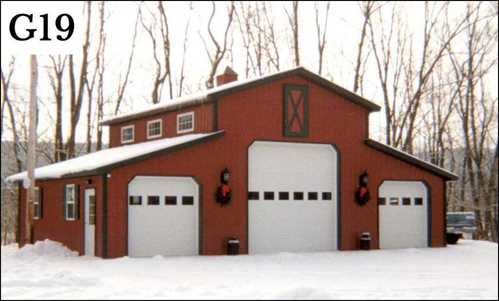 post frame garage g 19