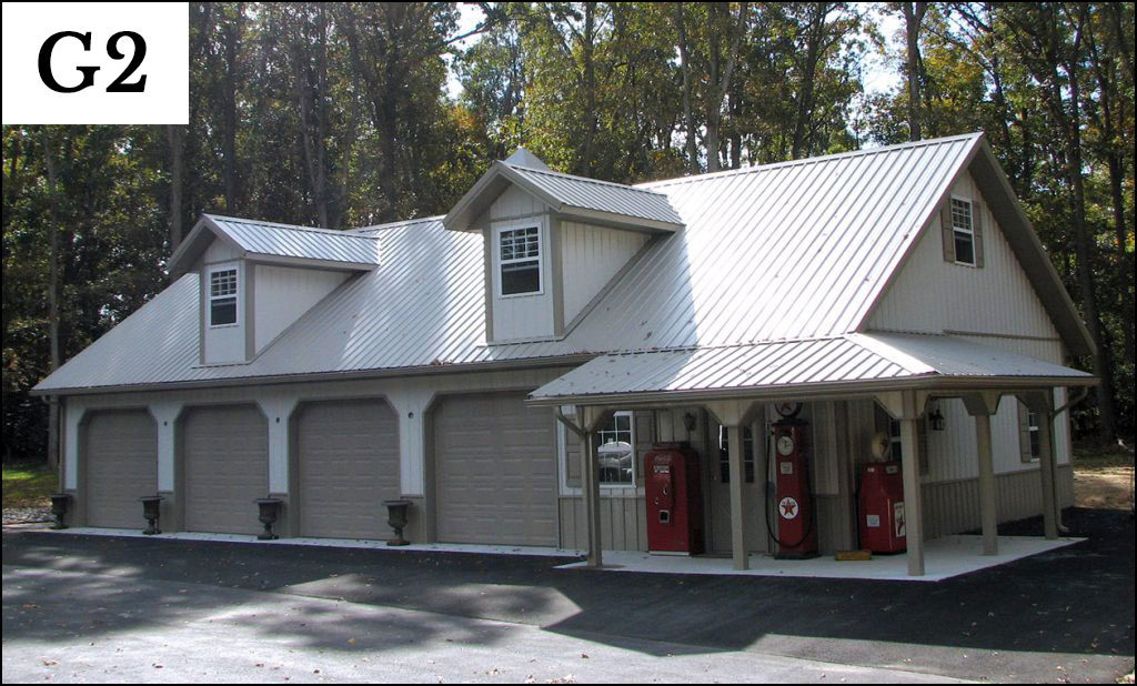 Custom garages gallery conestoga buildings for Garage building designs
