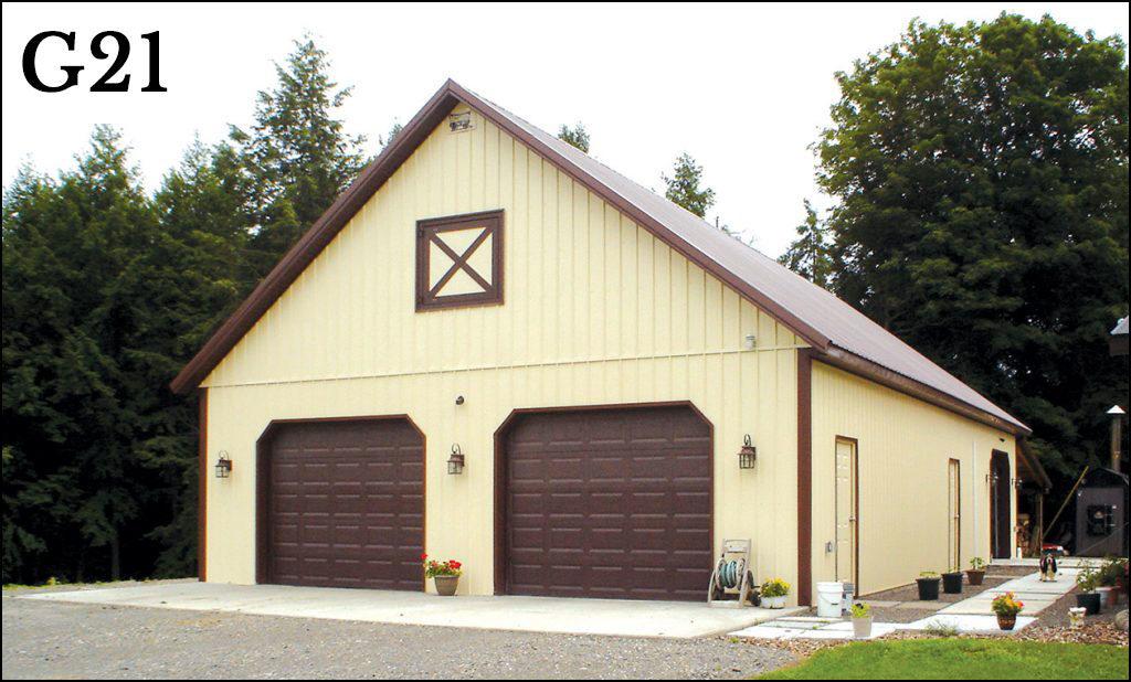 post frame garage g21