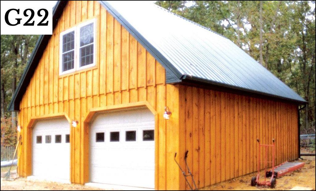post frame garage g22