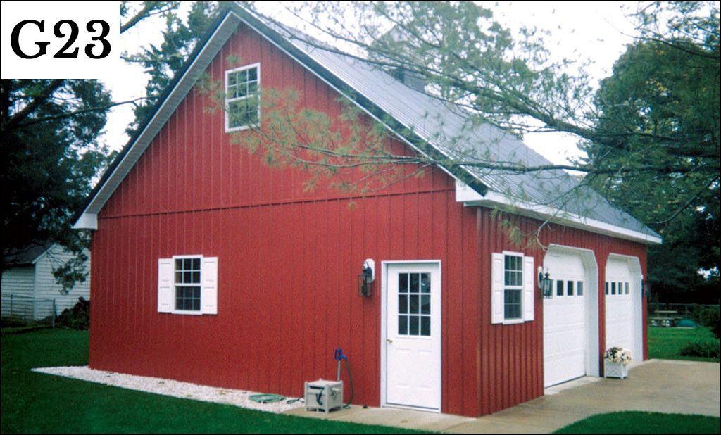 post frame garage g23
