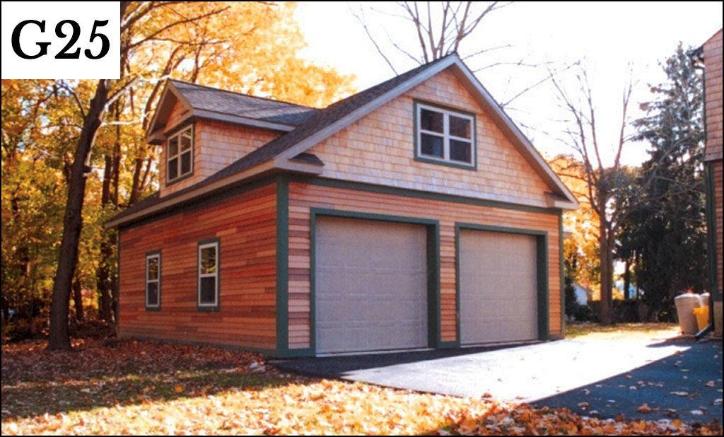 custom post frame garage g25