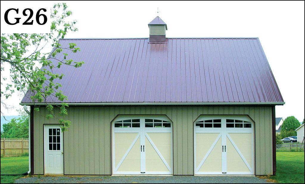 post frame garage g26