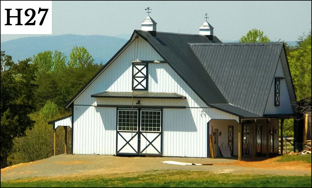 Post frame horse barns gallery conestoga buildings for Cost of building a horse barn