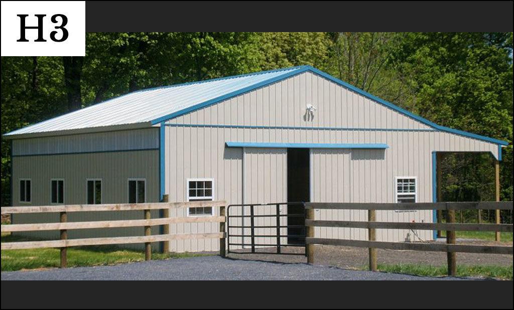 custom horse barn h3