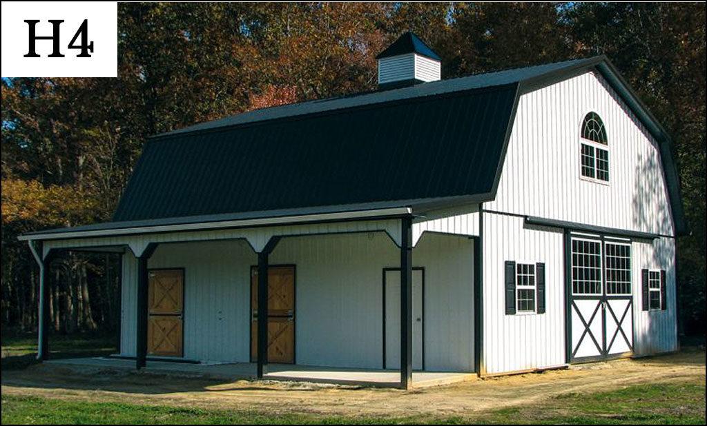 custom horse barn h4