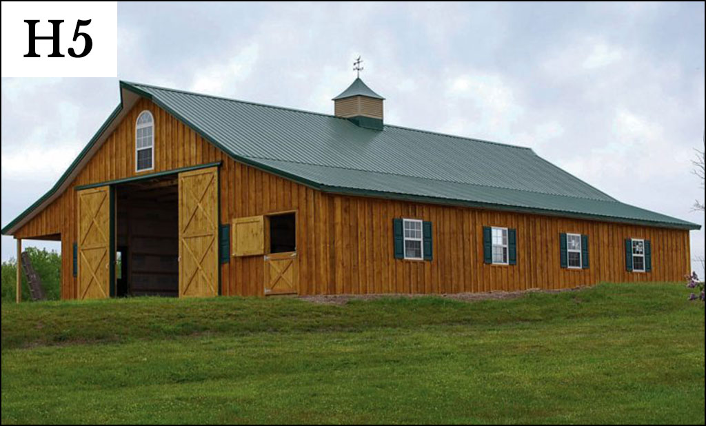 Post frame horse barns gallery conestoga buildings for Horse barn building