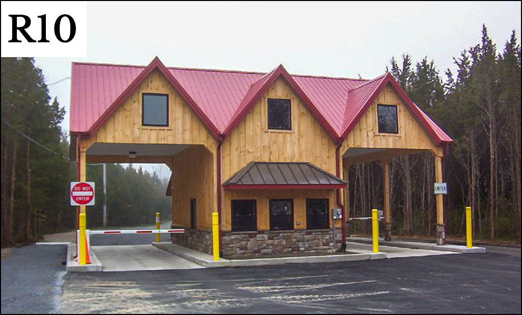 r 10 post frame building