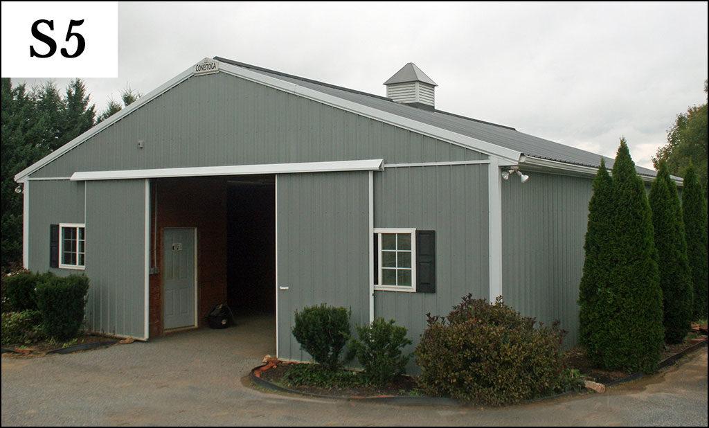 custom post frame storage building s5