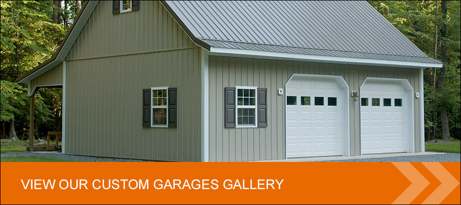 view custom post frame garages gallery
