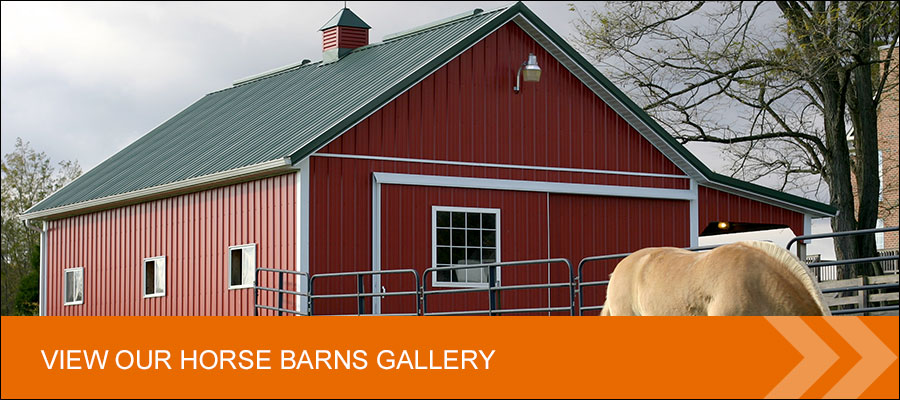 view custom post frame horse barn gallery