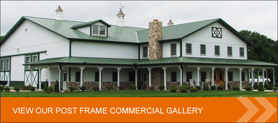 view our post frame commercial gallery