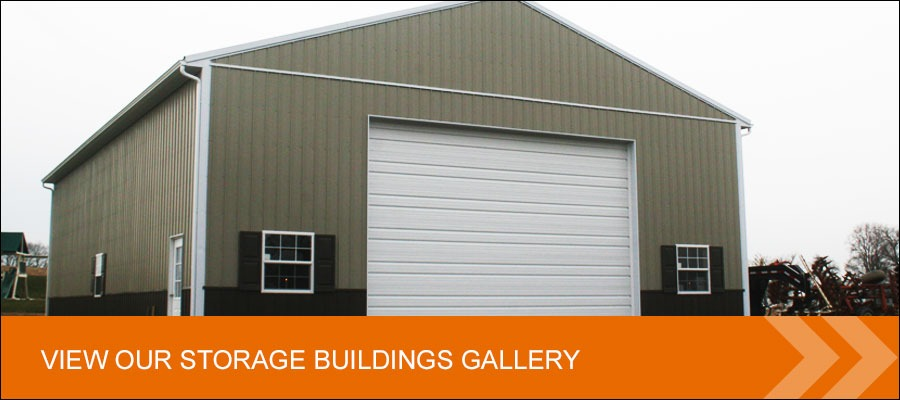view our storage buildings gallery