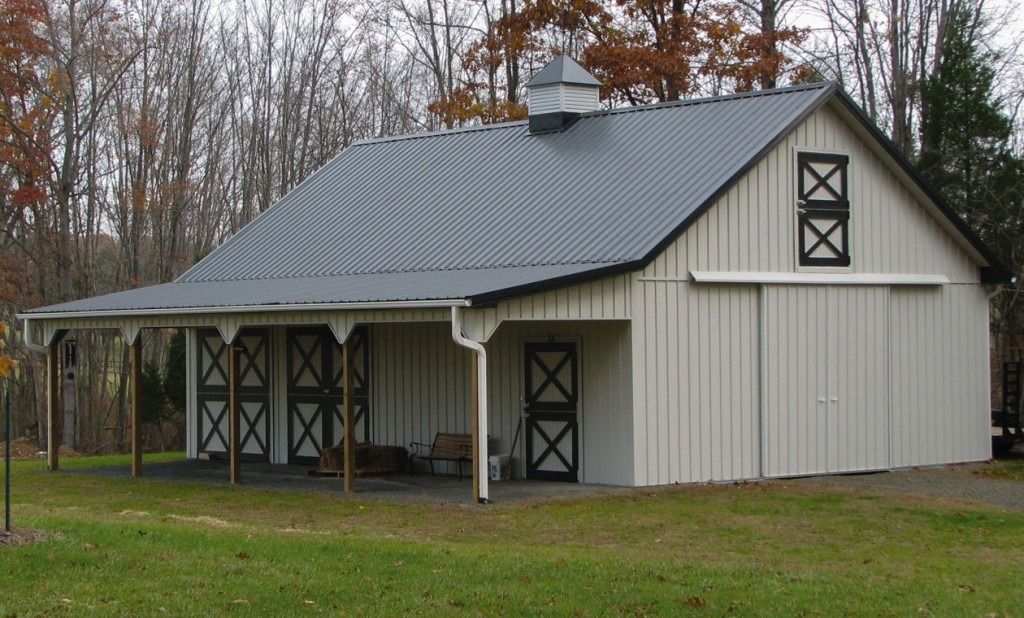 Wood vs. Metal: Which Is Best for Your Horse Barn ...