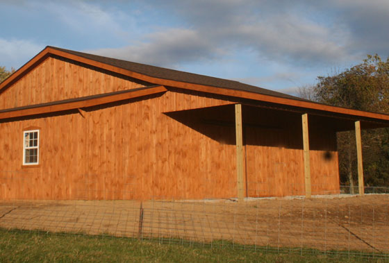 Wood Vs Metal Which Is Better For Pole Barns Conestoga