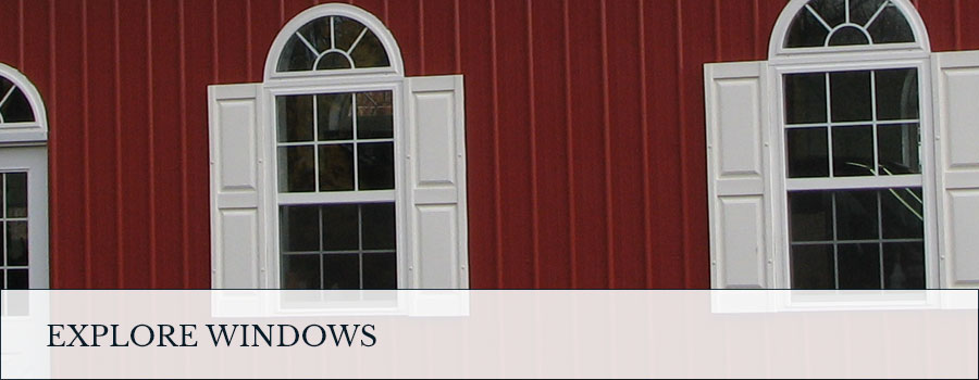 window selections for pole barns