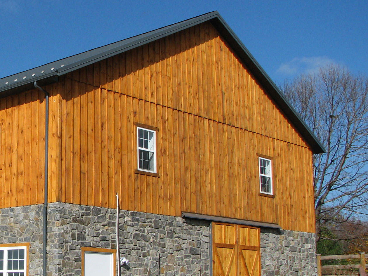 Post Frame Building Siding Choices Conestoga Buildings
