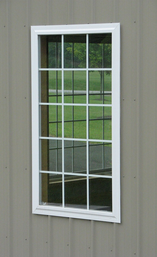 custom windows are available for your pole barn