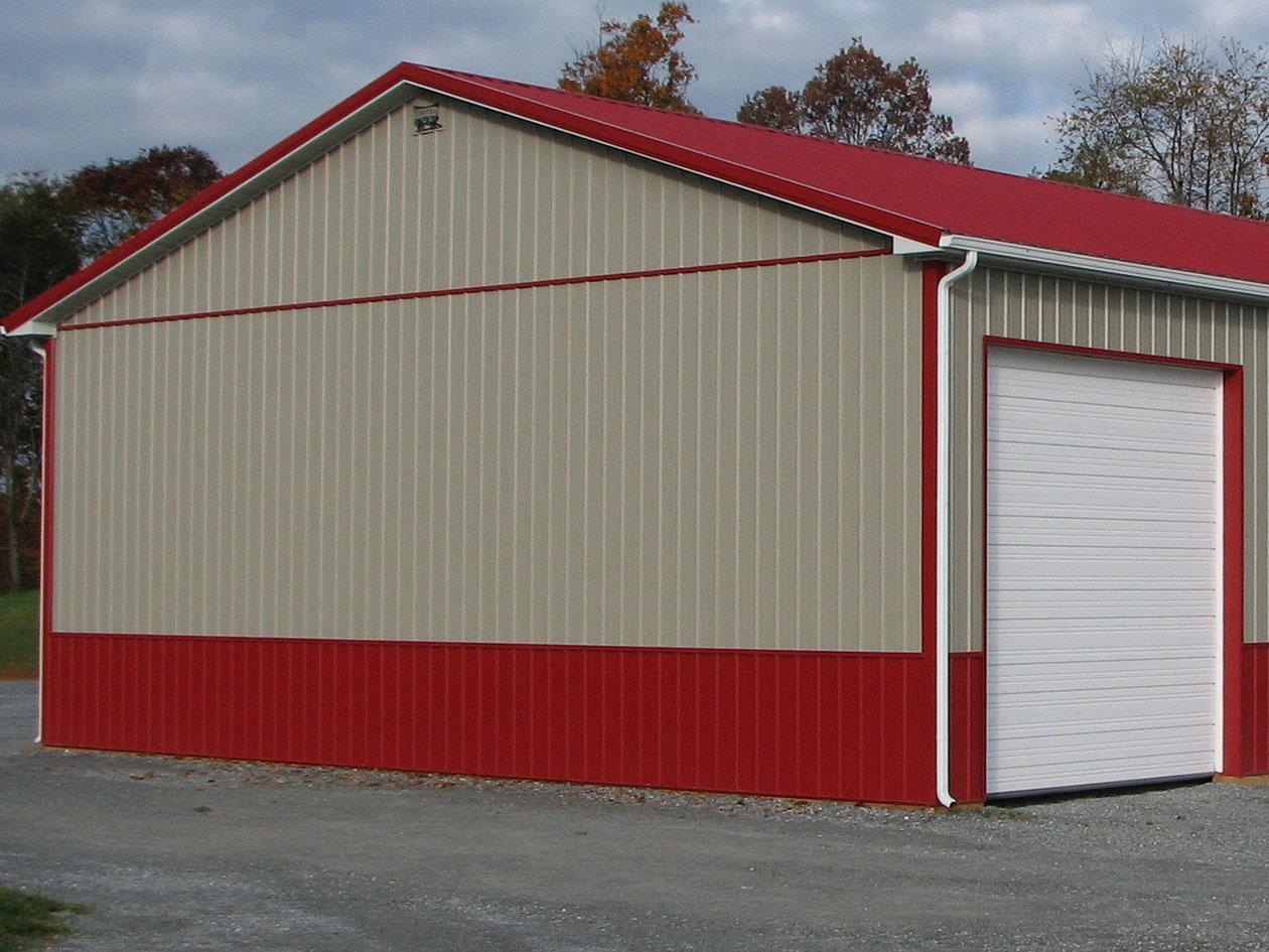 Post Frame Building Siding Choices Conestoga Buildings