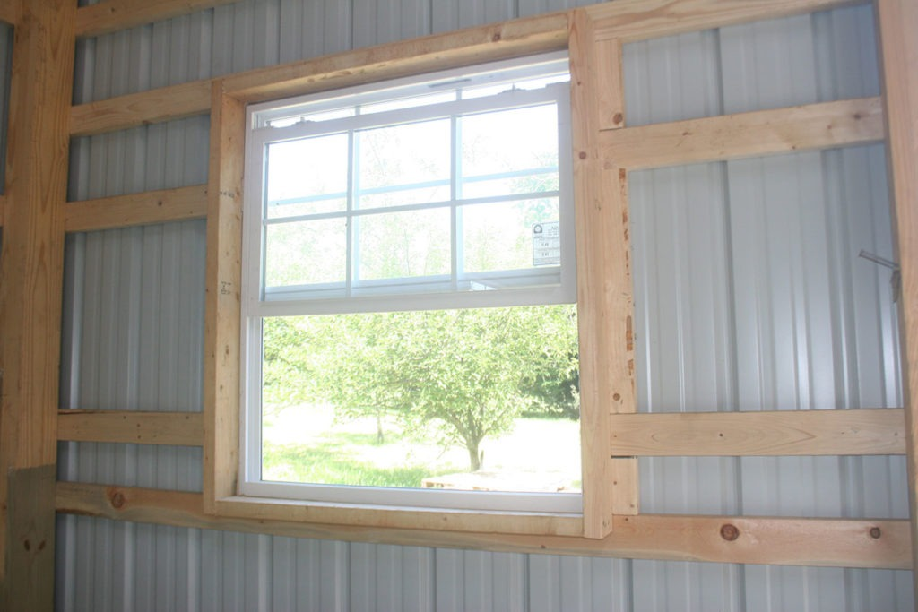 pole barn windows
