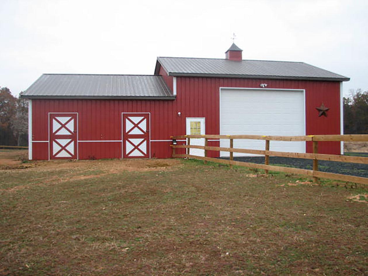 Post Frame Building Door Options Conestoga Buildings