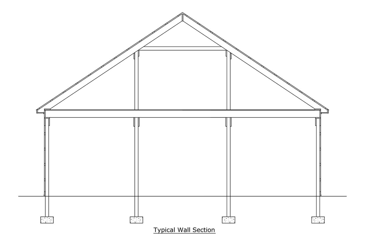 Post Frame Amp Pole Building Roofing Choices Conestoga