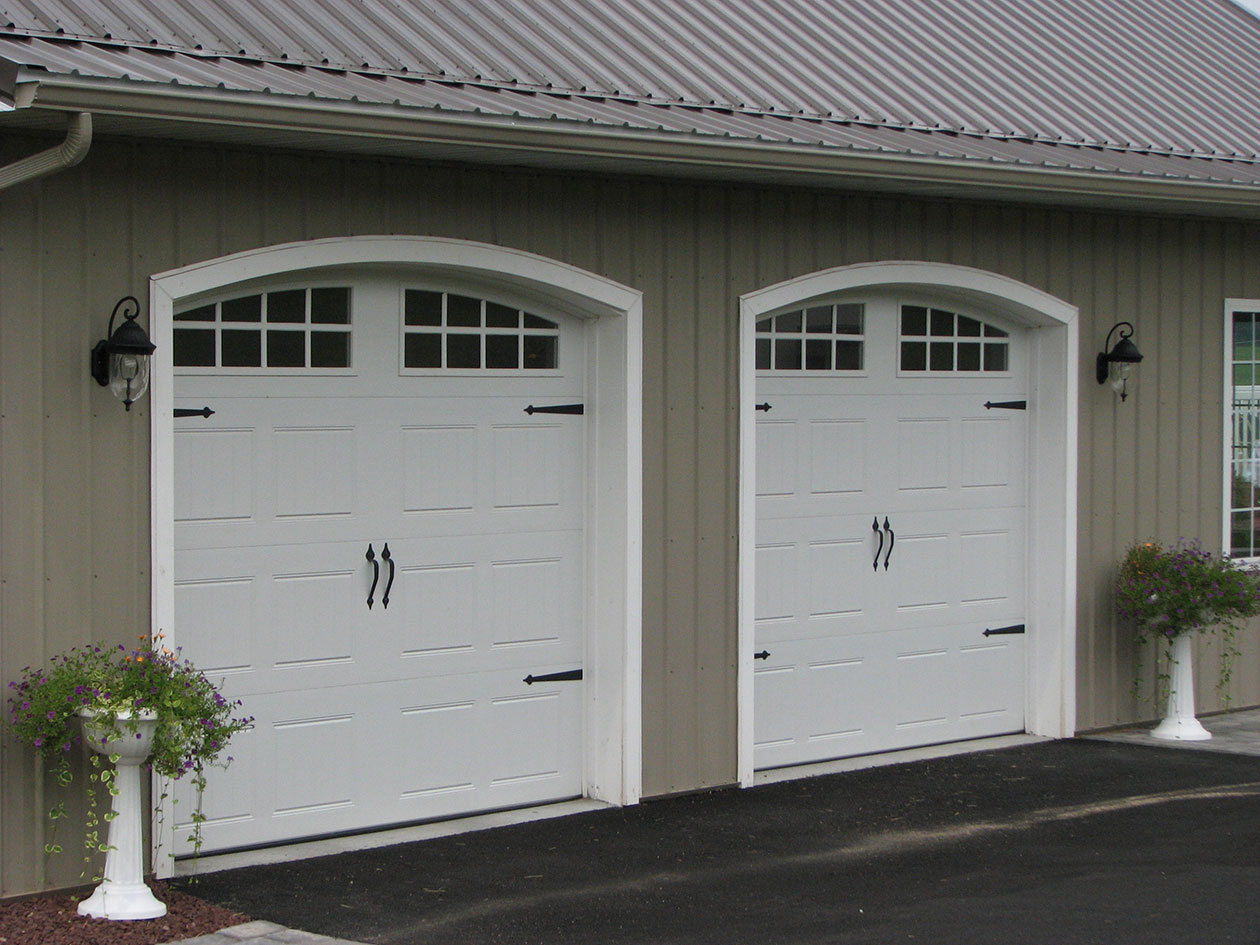 Post Frame Building Door Options Conestoga Buildings