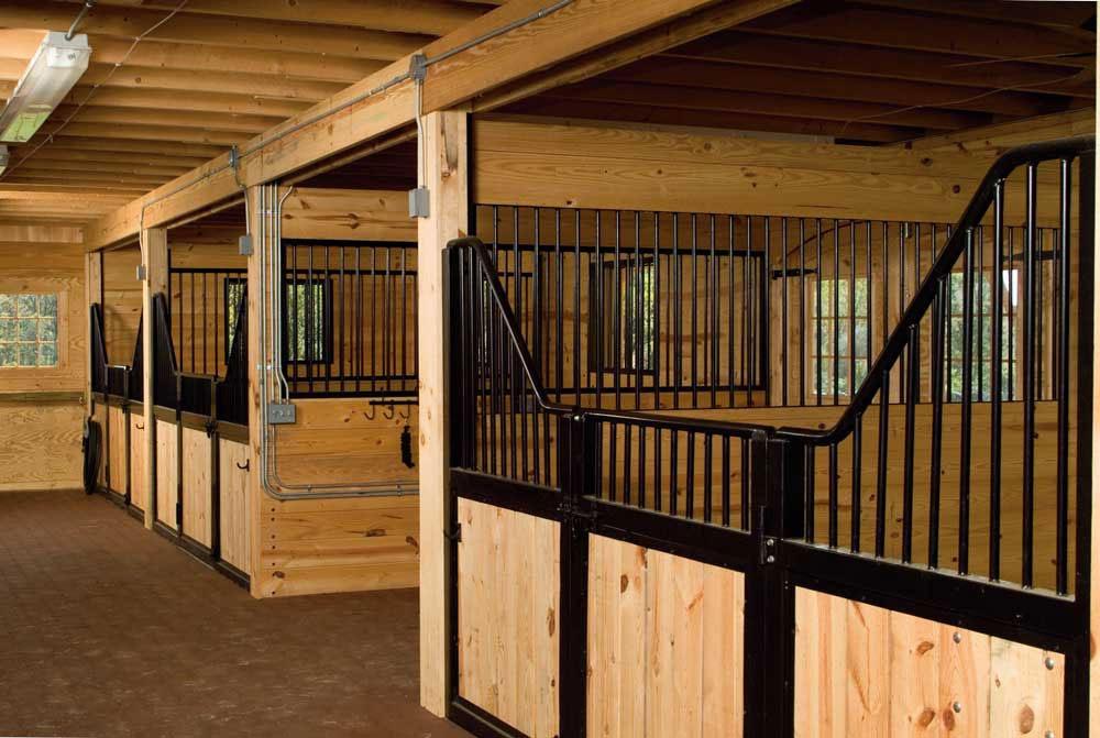 Interior Finishes For Equine Buildings Conestoga Buildings