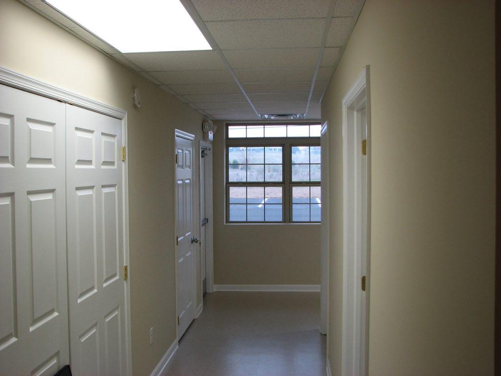 finished post frame interior