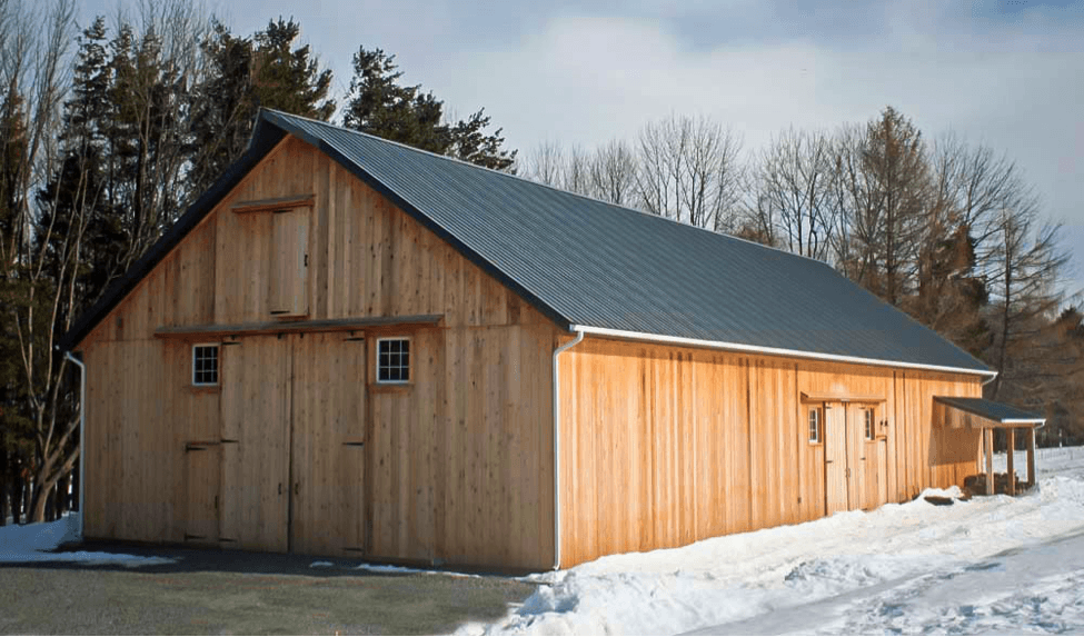 6 Reasons To Choose A Pole Barn For Your Machinery Shed Or