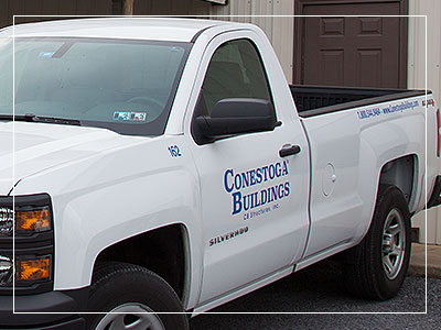 conestoga buildings friendly, professional crew
