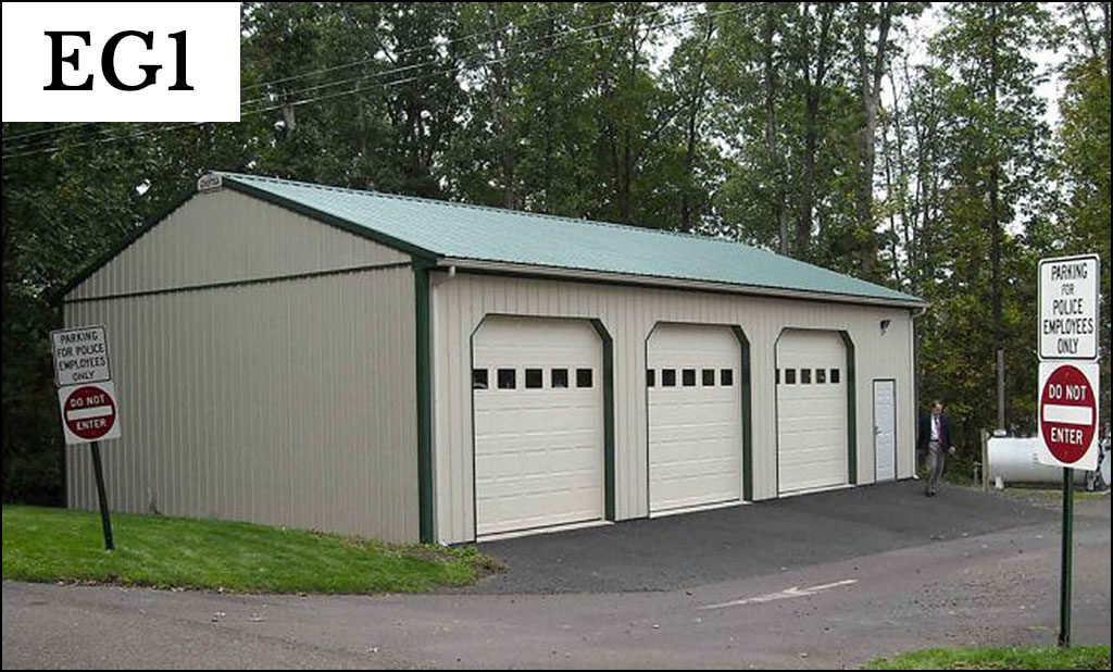 express post frame garage eg1