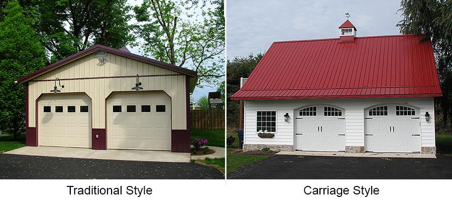 types of overhead doors