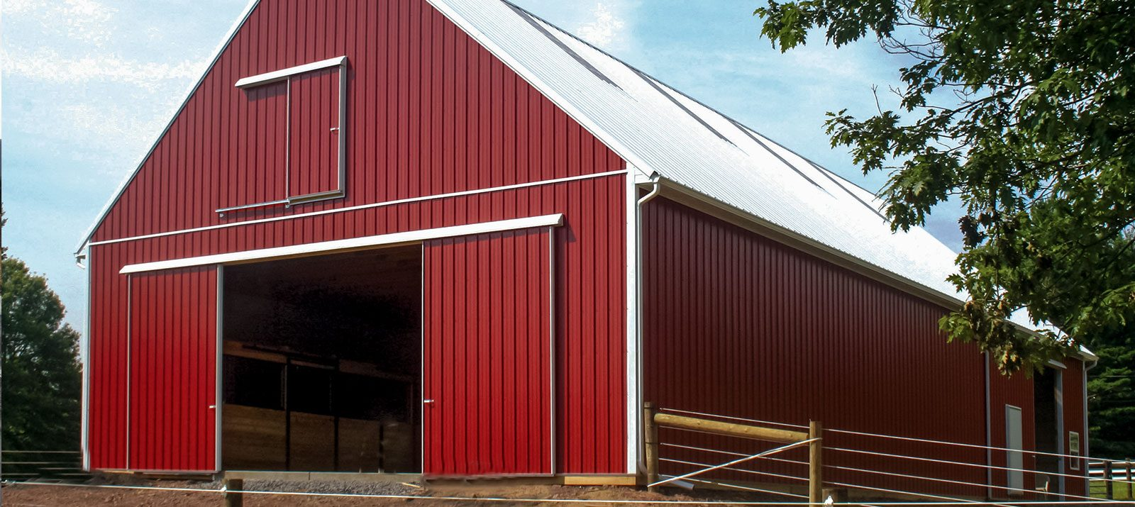 Custom Pole Barns Conestoga Buildings