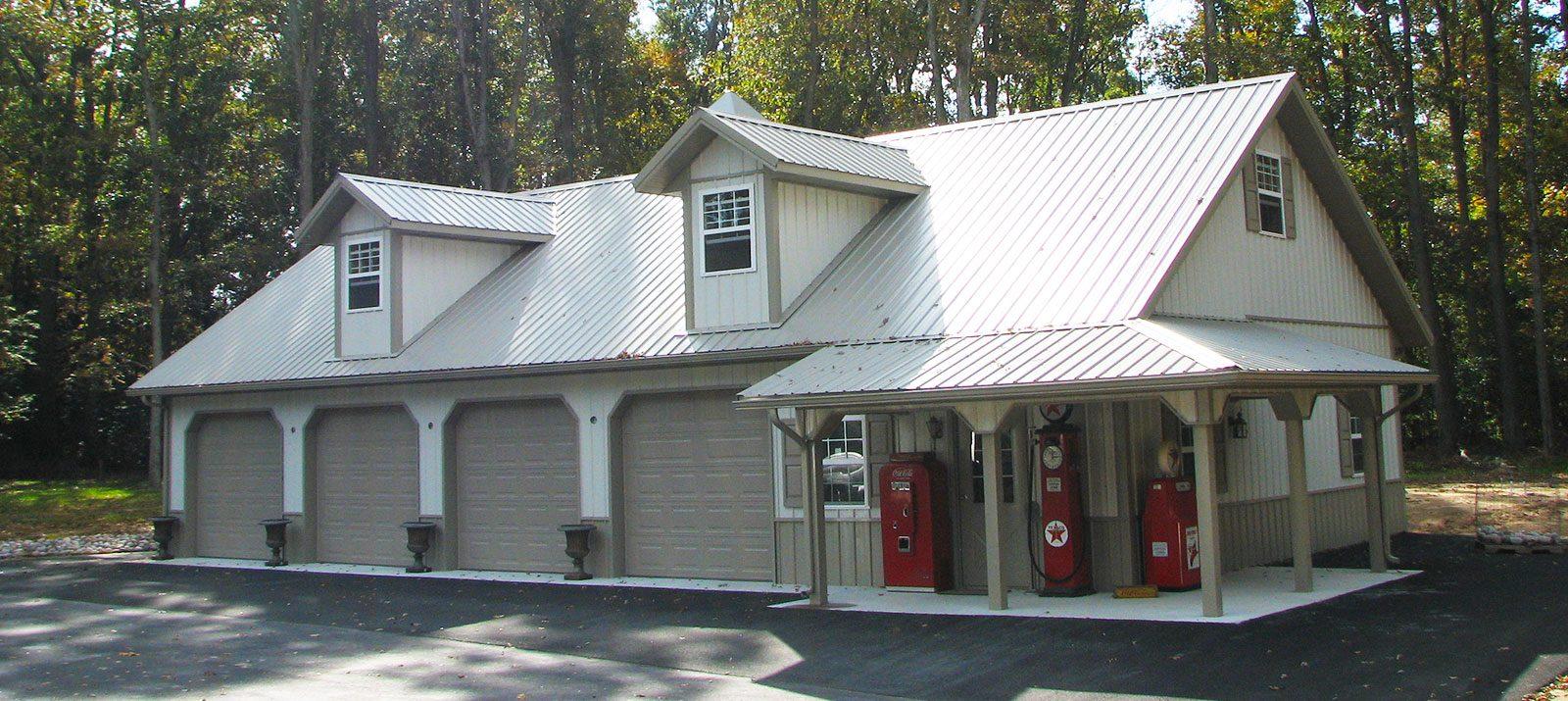 Custom Post Frame Garages Conestoga Buildings