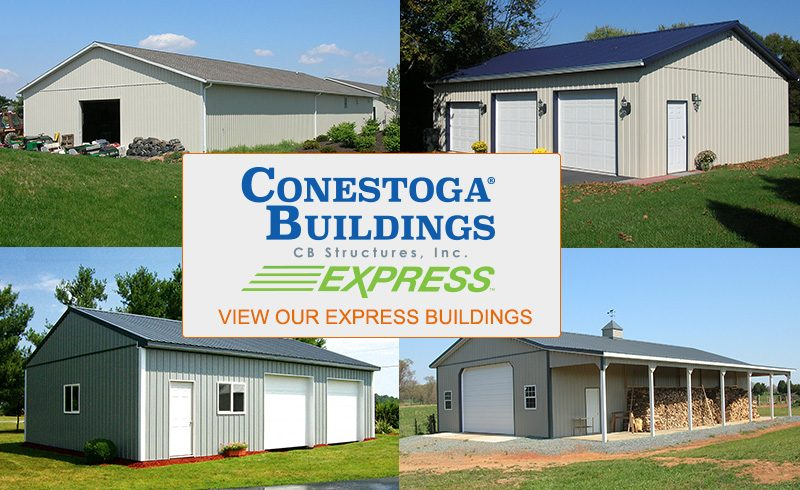 express post frame buildings by conestoga buildings